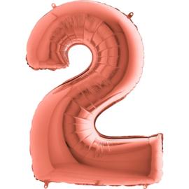 "Sempertex 40"" Nummer 2 Rosé Goud"