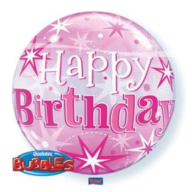 Bubbles Verjaardag Roze