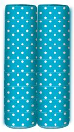 Serpentine Polka Dots Caribbean Blue