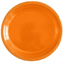 Bordjes Groot Oranje 23cm