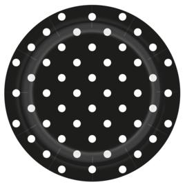 Bordjes Polka Dots Zwart