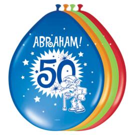 Ballonnen 30cm Abraham 50