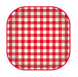 Bordjes Rood/Wit