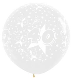 """Sempertex 36"""" Leeftijd 40 transparant st."""