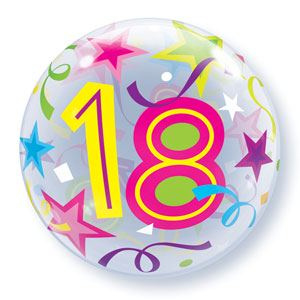 Bubble 18e Verjaardag bont