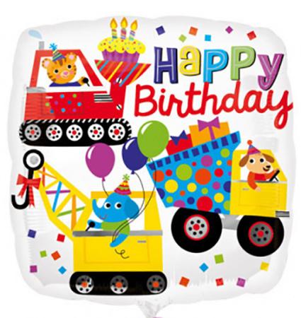"Folie Ballon ""happy birthday"""