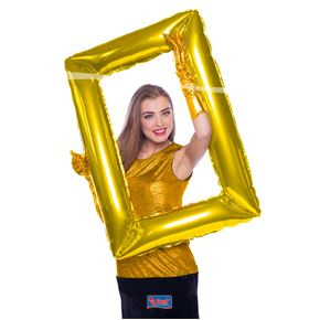 Balloon Frame Goud