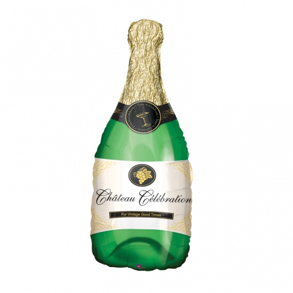 Folie Ballon Champagne Fles