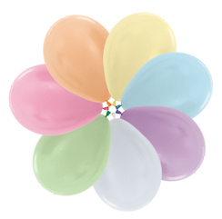 """Pearl Assorted 5""""(10cm) 50 st."""