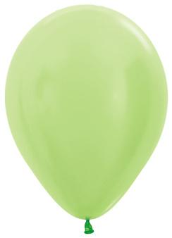 "Pearl Lime Groen 5""(10cm) 50st."