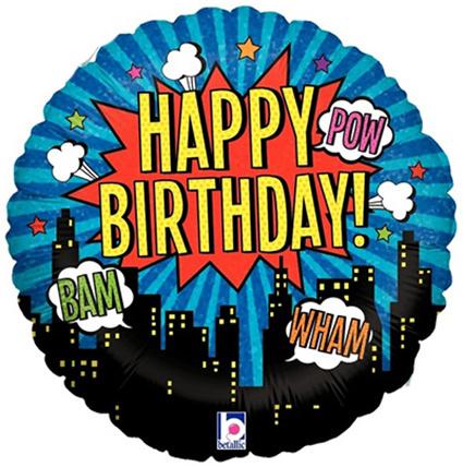 "folieballon ""happy birthday"""