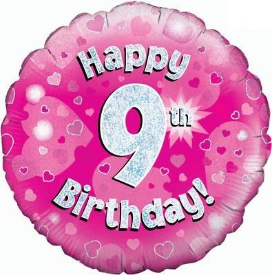 "Sempertex 18"" 9e Verjaardag Roze"