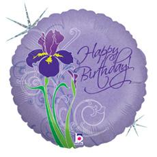 "Ballon 18"" 'Happy birthday'"