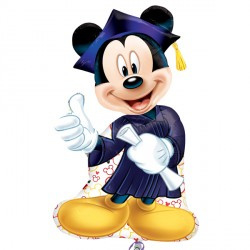 "Sempertex 23"" Mickey Mouse Geslaagd"