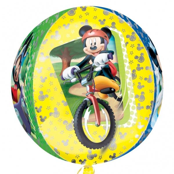 Sempertex Mickey Mouse op de Fiets