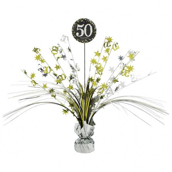 "Tafeldecoratie ""50"""