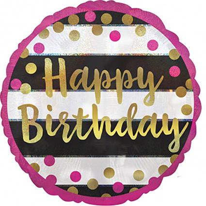 "foliballon ""happy birthday"""