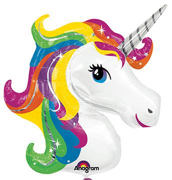 """Balloon unicorn 33""""x29"""""""