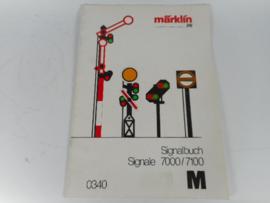Marklin 0340 Signalbuch
