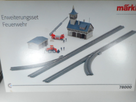 Märklin 78000 uitbreiding brandweer startset