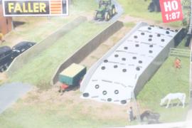 Faller 130528 verplaatsbare silo