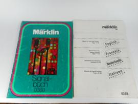 Marklin 0360/0368 Signalbuch met Vertaling