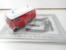 Schuco Mercedes brandweerauto