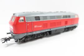 Märklin digitale diesellocomotief BR218 DB-cargo