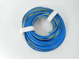 kabel 2 aderig geel/blauw