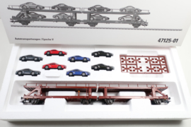 Märklin 47125 autotransportwagenset porsche transport