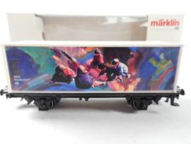 Marklin 44265 Containerwagen Unicef
