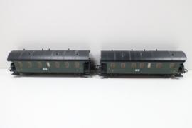 Märklin 2 stuks wagens SNCF