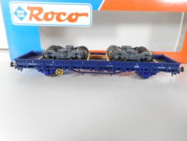 Roco 47170  Laagboordwagen met boogies CFL