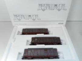 Märklin 47313 Set met 3 gesloten wagens NS