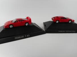 Herpa 2 x Ferrari