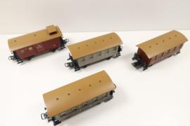 Märklin 4035 wagenset Preussische personenwagens