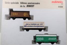 Märklin 4488 wagenset 50 jaar SNCF