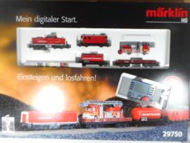 Märklin 29750 digitale startset brandweer