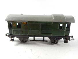 Marklin 328 Bagagewagen blik groen