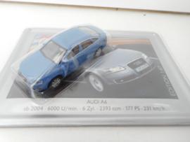 Schuco Audi A6 blauw