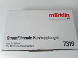 Märklin 7319 stroomvoerende koppelingen voor 10 wagens