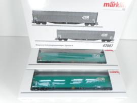 Märklin 47007 Set schuifhuifwagens SNCB  cargo