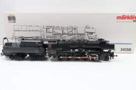 Märklin 34158 digitale stoomlocomotief serie 56 CFL