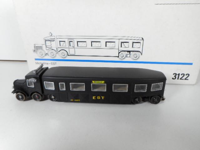 Märklin 3122  railbus Micheline  Corbillard