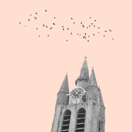 old church salmon pink