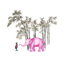 don't think on the pink elephant