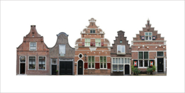 dutch houses 10x20cm