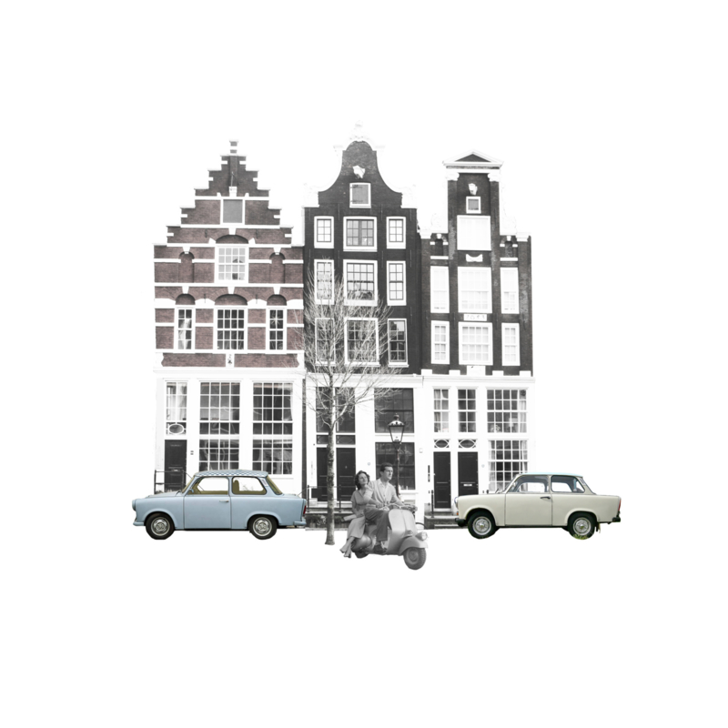 canal houses Amsterdam 1