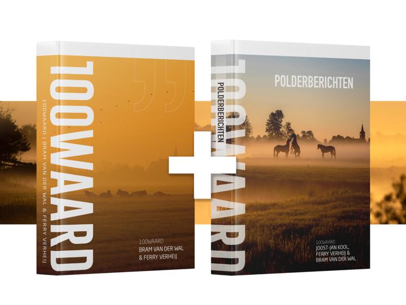 Boek 100Waard + Polderberichten