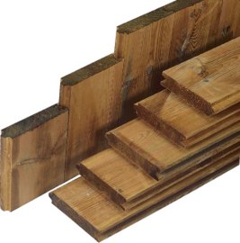 Damwand planken